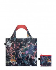 LOQI  bag -Kristjana S Williams Interiors World Map
