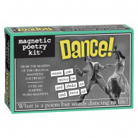 Magnetic Poetry Dance