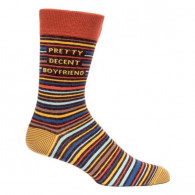 Men Socks - Pretty Decent Boyfriend