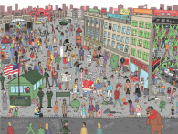 Where's Bowie puzzel | AboutNOw.nl